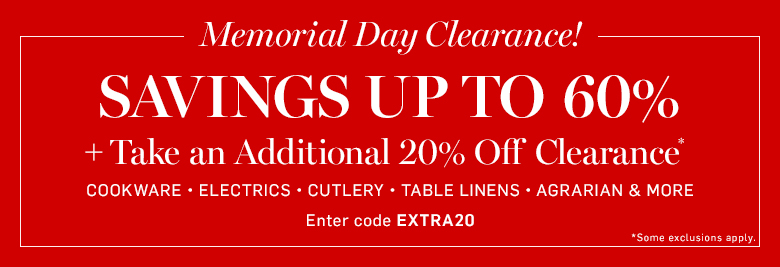 Memorial Day Clearance!*