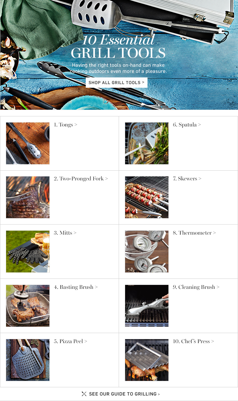 Grill Tools Guide