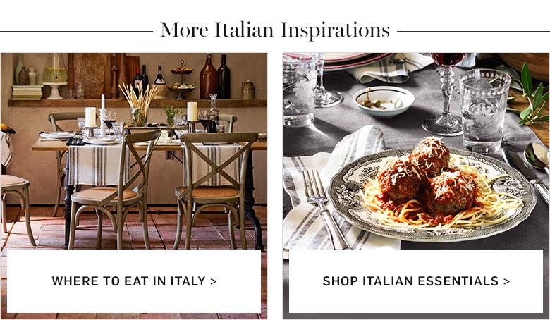 More Italian Inspiration