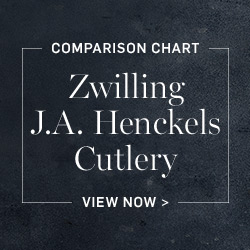 Zwilling J.A. Henckels Cutlery Comparison Chart >