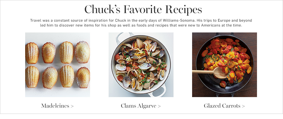 Chuck's Favorite Recipes