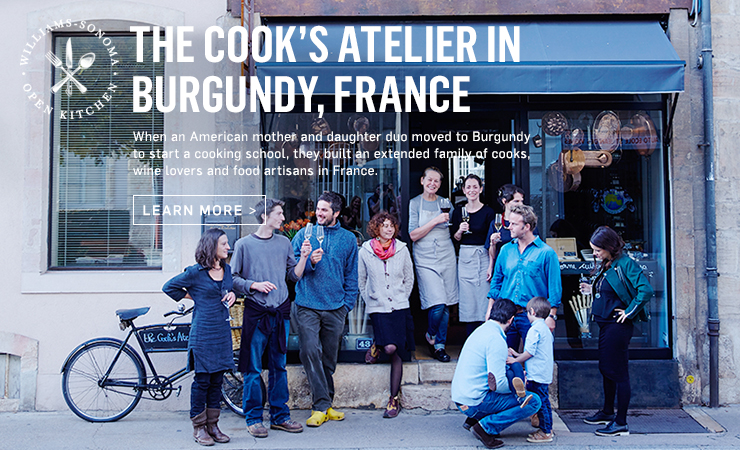 The Cook's Atelier in Burgundy, France >