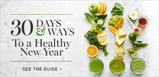 30 Days & Ways to a Healthy New Year >