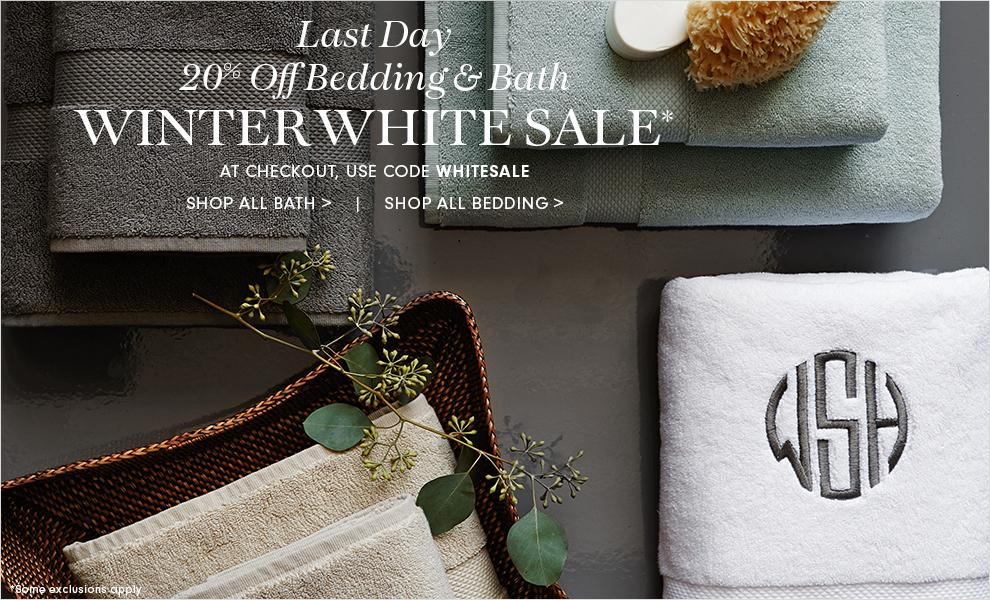 White Sale - 20% Off