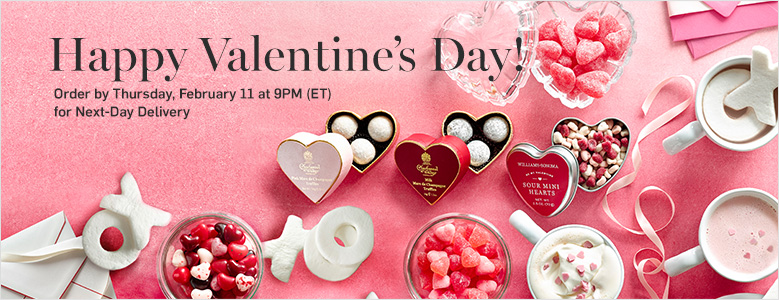 Order by February 11 at 9PM ET for next day delivery