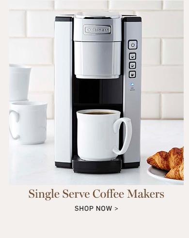 Single Serve Coffee Makers >