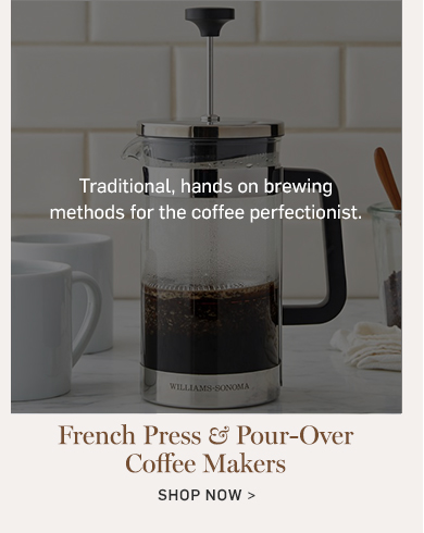 French Press & Pour-Over Coffee Makers >