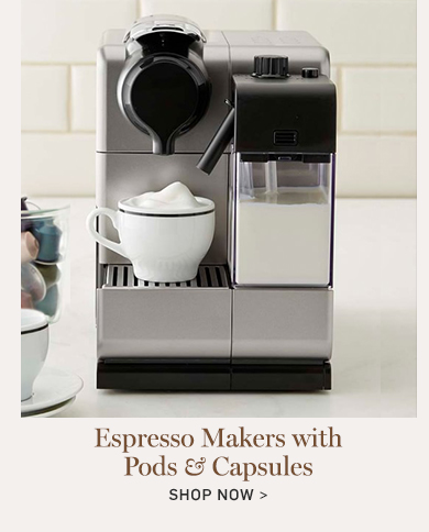 Espresso Makers with Pods & Capsules >