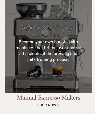 Manual Espresso Makers >