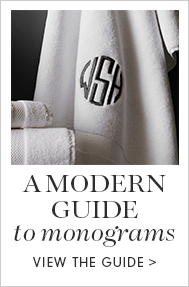 A Modern Guide to Monogram >