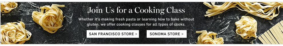 Join Us for a Cooking Class