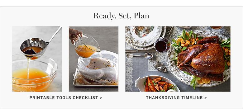Ready, Set, Plan