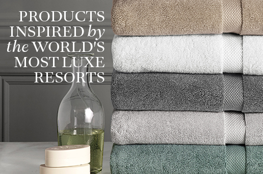 Products Inspired by the World's Most Luxe Resorts