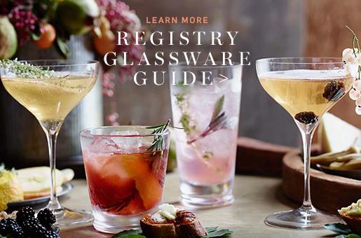 Registry Glassware Guide >
