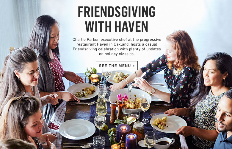 Friendsgiving with Haven