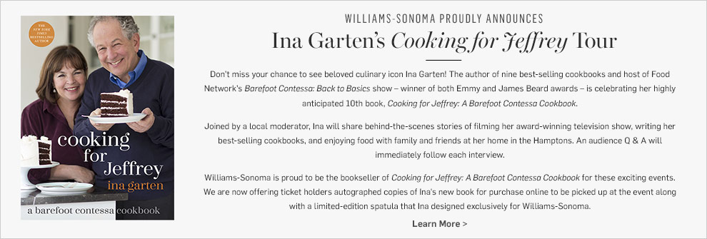 Ina Garten's Cooking for Jeffery Tour >