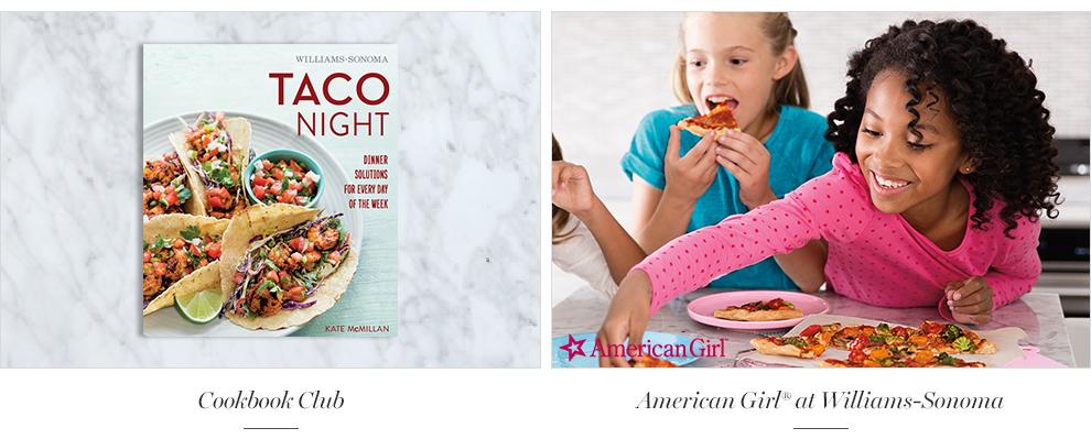 Cookbook Club & Kids' & Teens' Cooking Camp