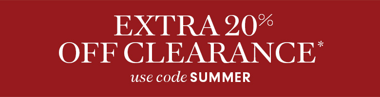Extra 20% off Wshome Clearance*