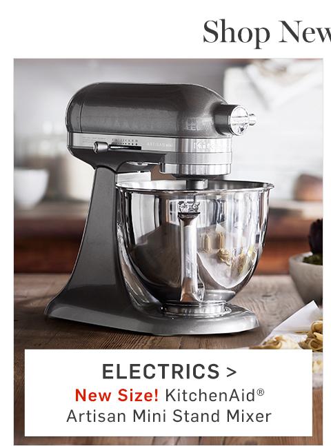 Electrics > New Size! KitchenAid Artisan Mini Stand Mixer