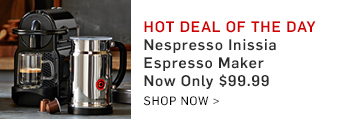 Hot Deal of the Day >