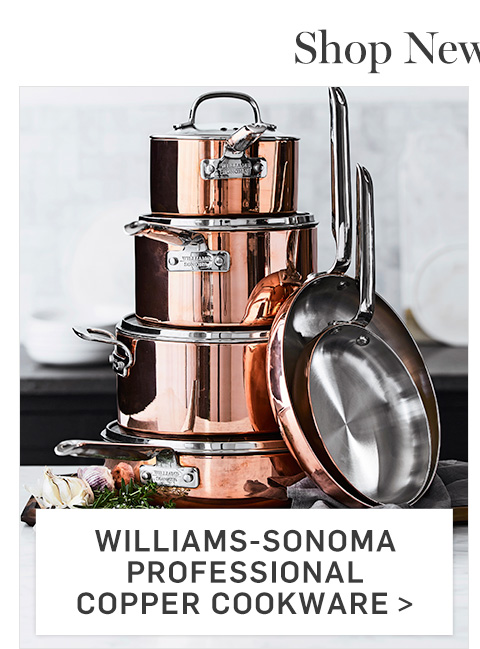 Williams-Sonoma Professional Copper Cookware