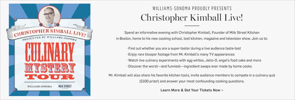 Christopher Kimball Live!
