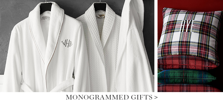 Monogrammed Gifts >