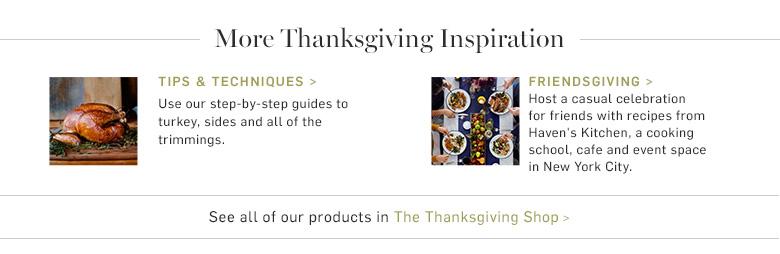 More Thanksgiving Inspiration