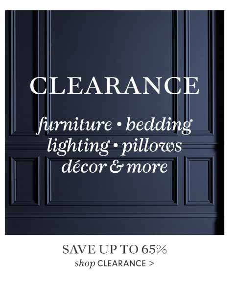 Save Up to 65% - Shop Clearance >