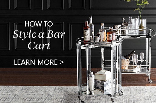How to Style a Bar Cart >