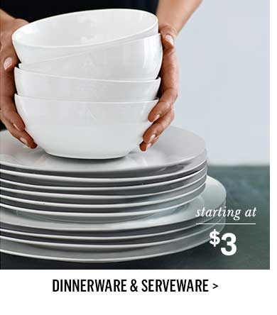 Dinnerware & Serveware >