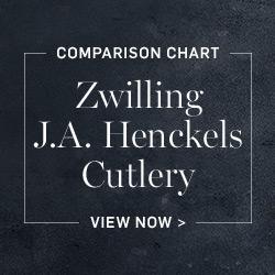Zwilling J.A. Henckels Cutlery Comparison Chart >