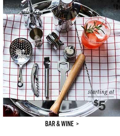 Bar & Wine >