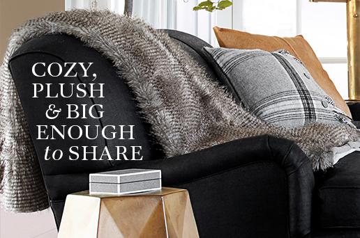 Cozy, Plush & Big Enough to Share