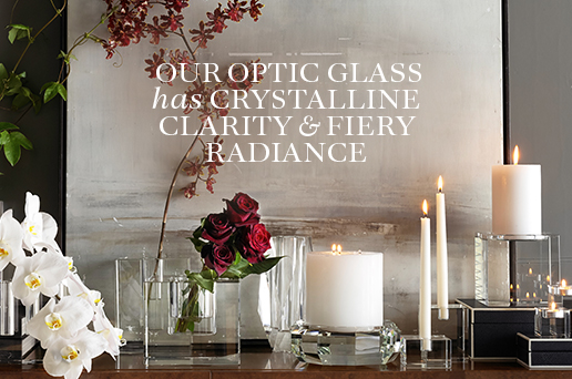 Our Optic Glass has Crystalline Clarity & Fiery Radiance