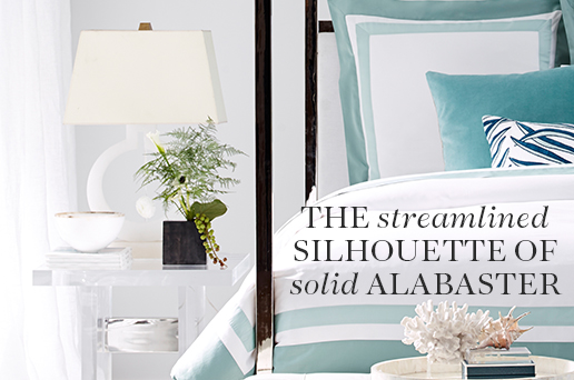 The Streamlined Silhouette of Solid Alabaster