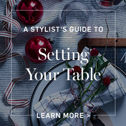 Setting Your Holiday Table >