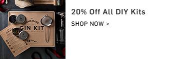 20% off all DIY Kits
