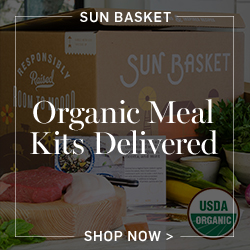 Sun Basket: Organic Meal Kits Delivered >