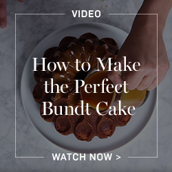 How to Make the Perfect Bundt Cake