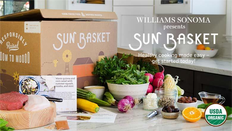 Williams Sonoma presents Sun Basket