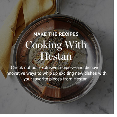 Cooking with Hestan >