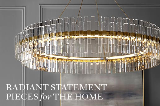 Radiant Statement Pieces for the Home