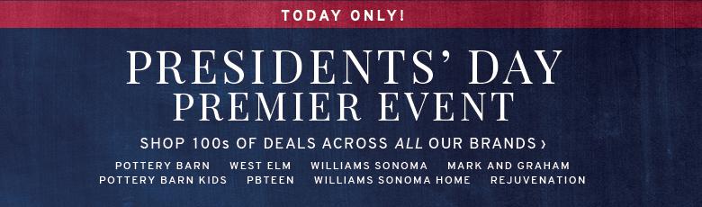 Premier Event - Shop 100s of Deals Across All Our Brands >