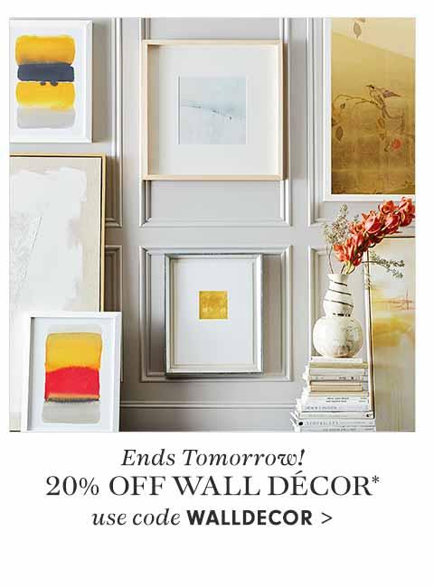20% off Wall Decor code: WALLDECOR