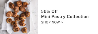 50% Off Mini Pastry Collection