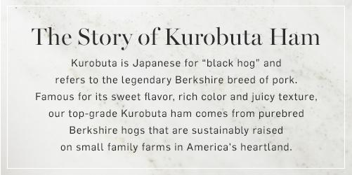 The Story of Kurobuta Ham