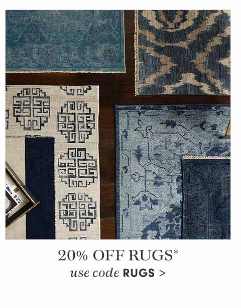 20% off Rugs
