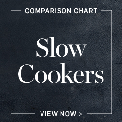 Slow Cookers Comparison Chart
