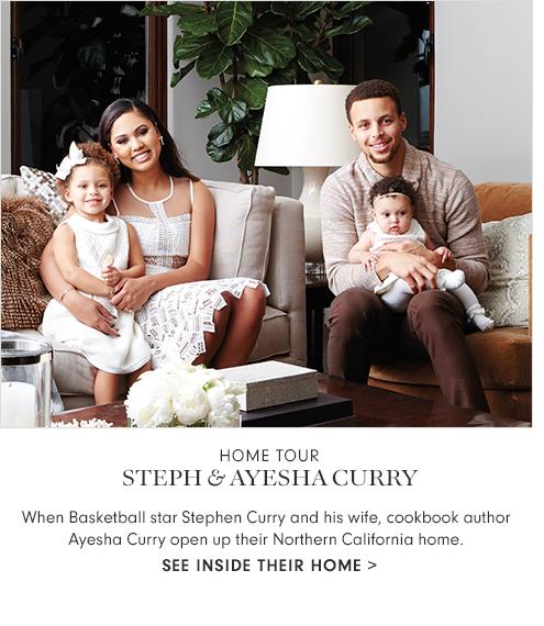 Home Tour Steph & Ayesha Curry